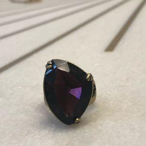 Chloe + Isabel Purple Ring (Size 7)